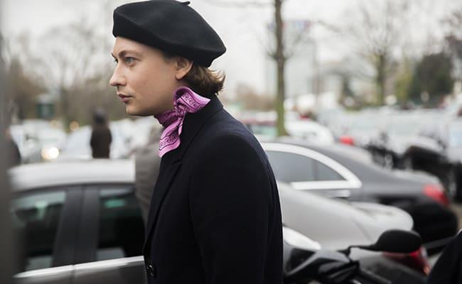 fancy beret