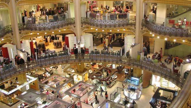 Les Grands Magasins Paris Galleries Lafayette