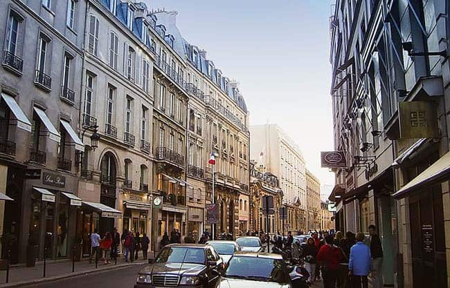 Rue Du Faubourg St Honore