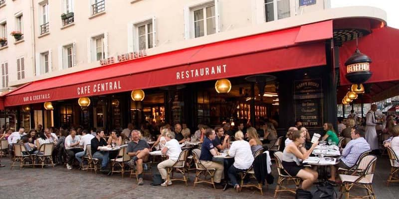 First Up On My List Of Best Restaurants Near The Eiffel Tower Is Café Central Within Walking Distance This Located At 40 Rue