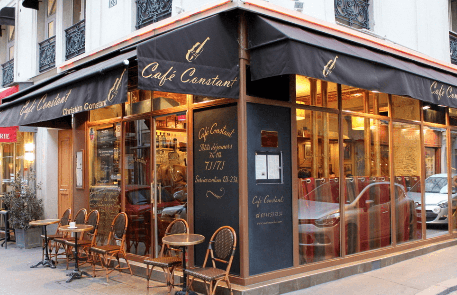 Next On My List Of The Best Restaurants Near Eiffel Tower Is A Tiny Local Favourite Café Constant An Adorable Little Just Few Minutes Walk