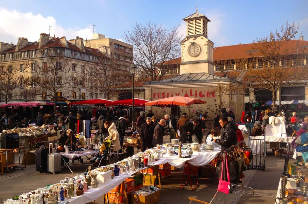 Top 5 Food Markets in Paris