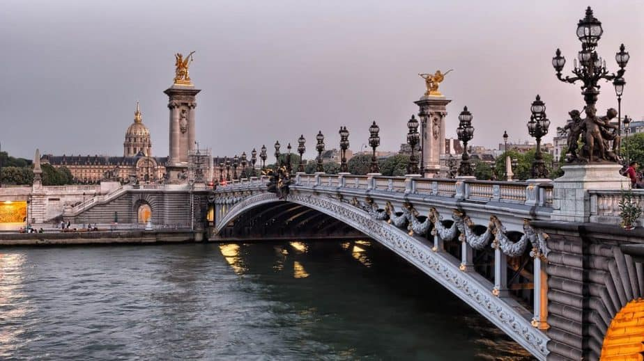 Pont Alexandre III and the Seine