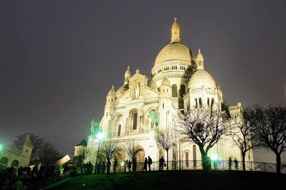 Sacre Coeur in Montmartre Paris