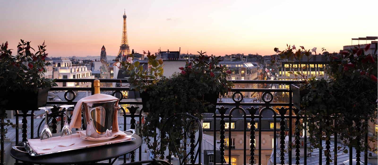 Restaurant Avec Vue Paris Champs Elysees