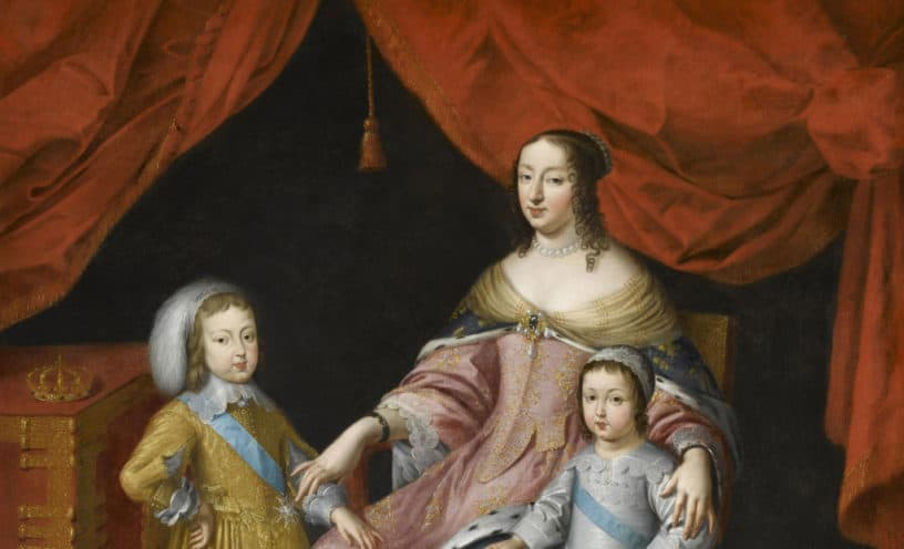 Anne of Austria the French Queen