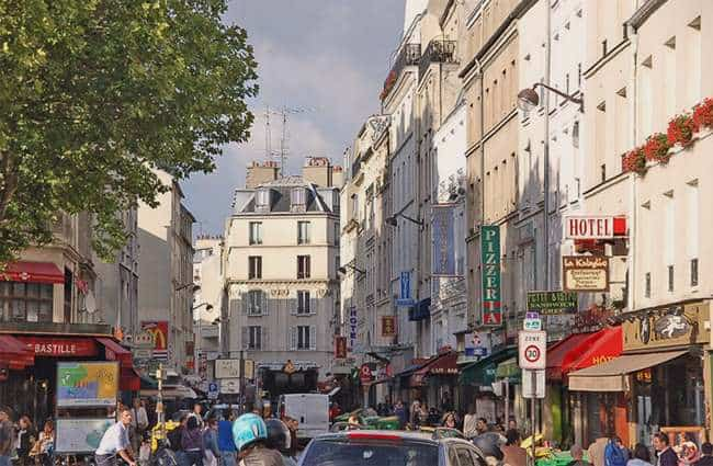 Rue de La Roquette in Paris