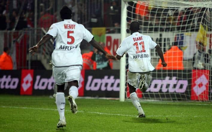 Le Paris Saint Germain évite la relégation 2008