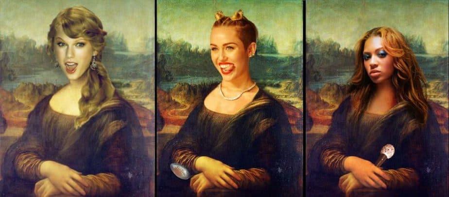 Mona Lisa is famous