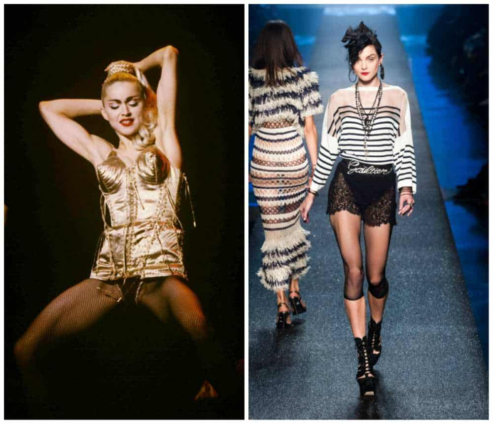 the famous and provocative Jean Paul Gaultier