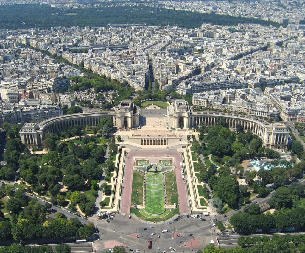 Paris from above the 5 highest points in Paris 1