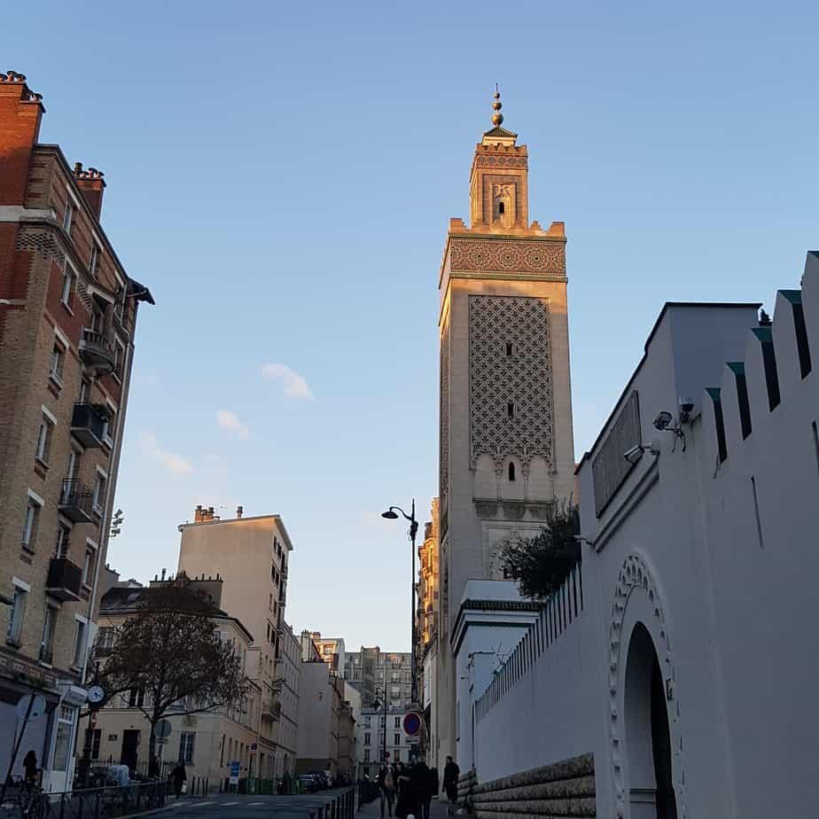 Mosque Sunday Paris
