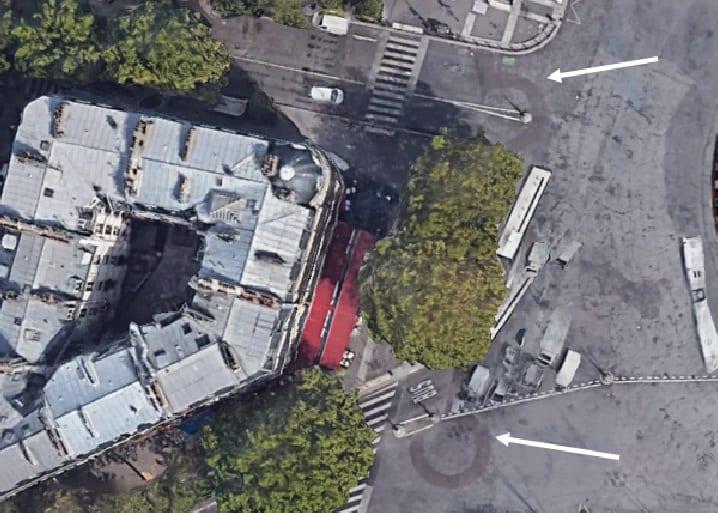 Bastille Google Maps