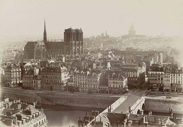 Charles Soulier, Panorama de Paris - Pris de la tour Saint Jacques, ca. 1865
