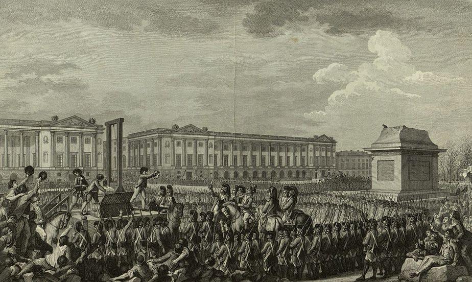 Louis XVI Execution Concorde