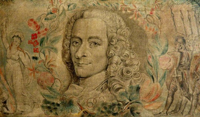 Tapestry Voltaire