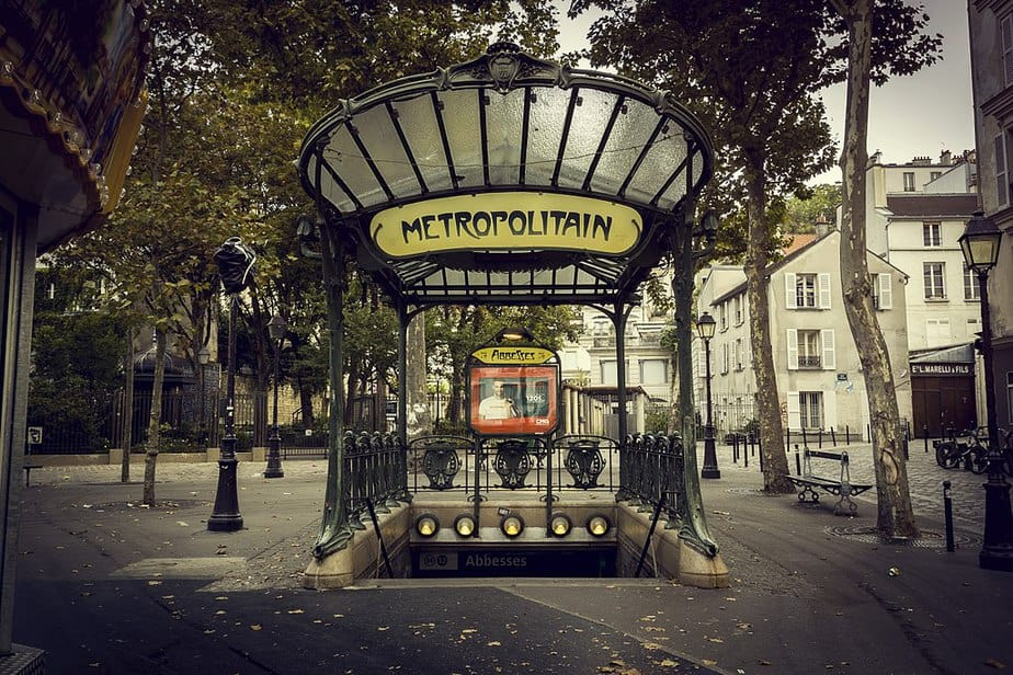Abbesses Métro station entrance