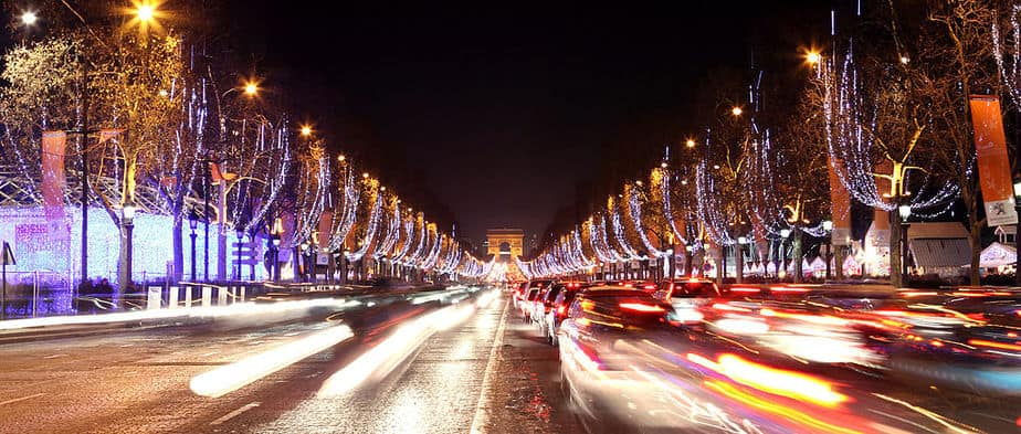 Champs Elysees Illuminations