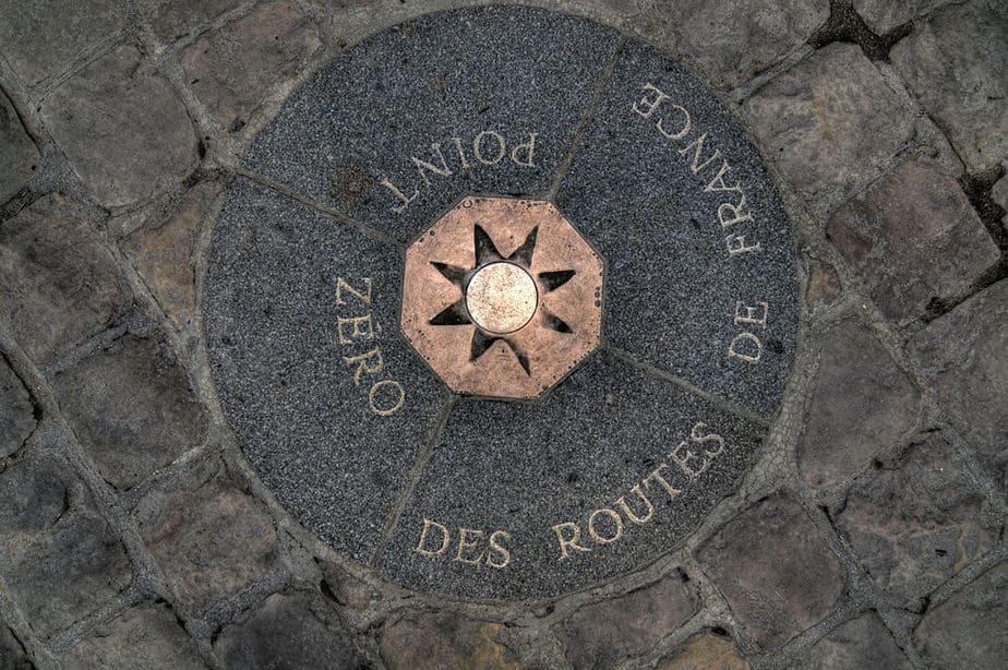 Point Zero des Routes de France
