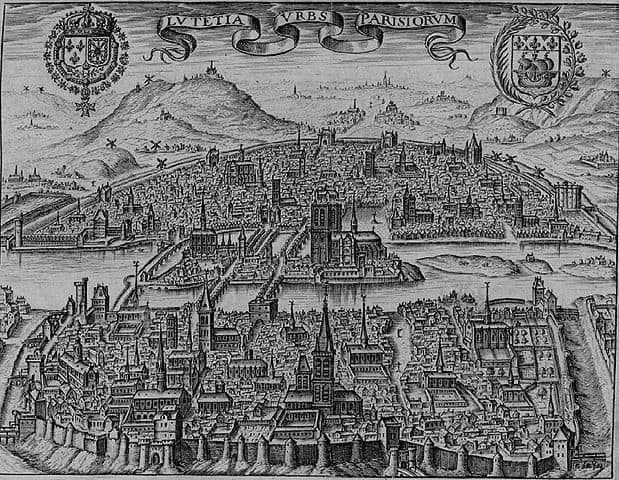 Paris in 1600