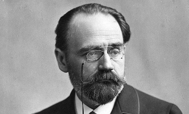 Émile Zola in 1890s