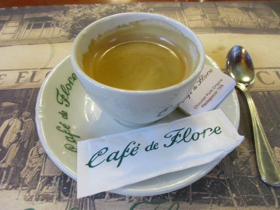 Café de Flore in Paris, France