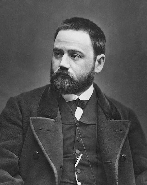 Émile Zola by Carjat