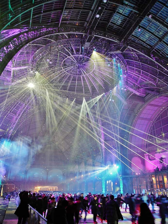 The Grand Palais Ice Rink