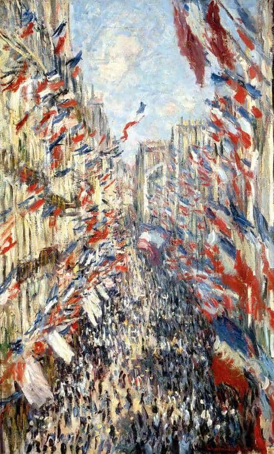 MONET - La Rue Montorgueil