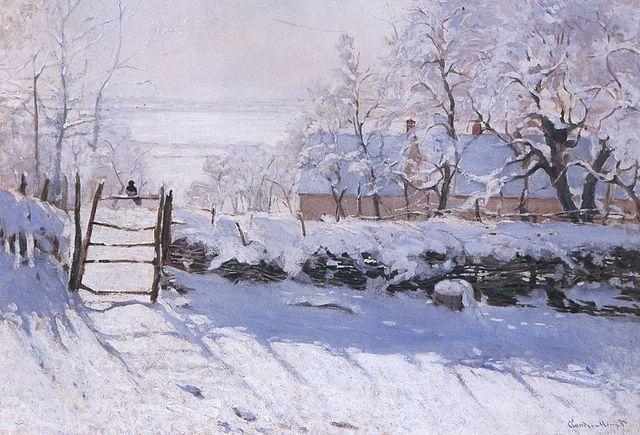Monet painting