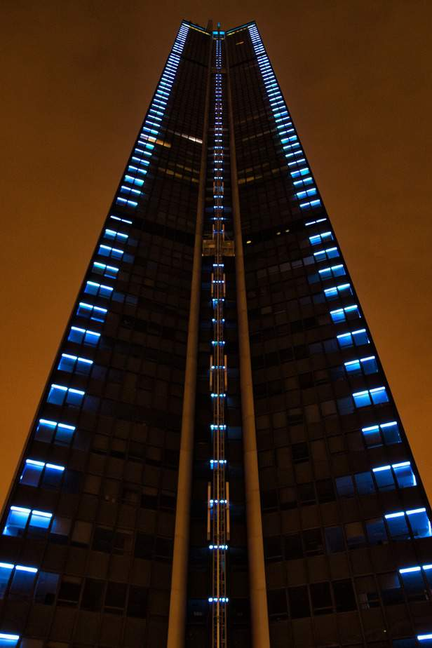 Montparnasse Tower by Night