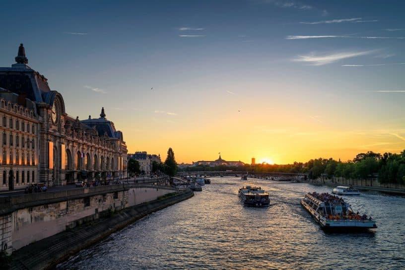 Orsay & the Seine