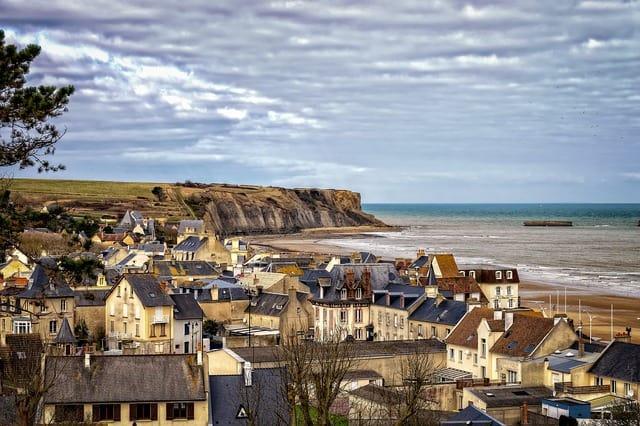 Sea France Normandy City Arromanches-les-bains