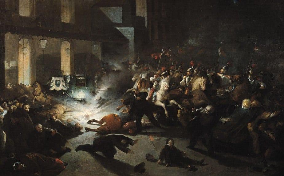 L'attaque de la rue Le Peletier