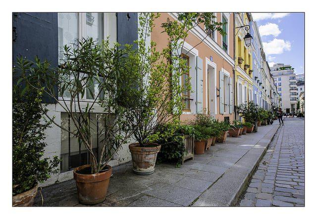 n°86 Frontage rue Crémieux. Paris