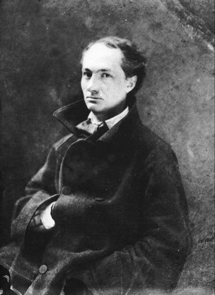 Photography of Charles Baudelaire by Félix Nadar