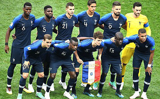 France in the 2018 World Cup