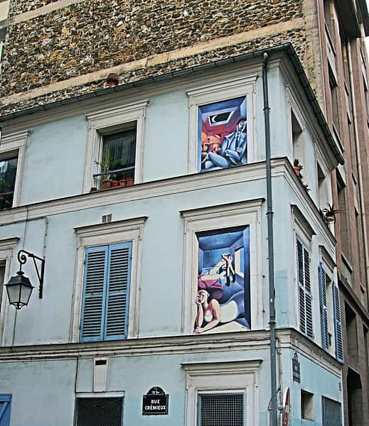 Murals In The Rue Cremieux