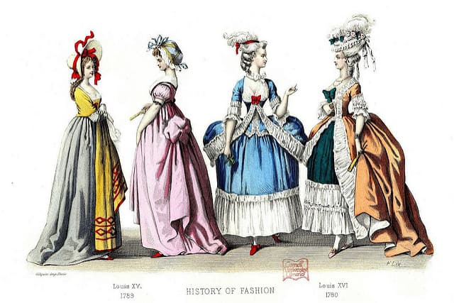 History Of French Fashion In Paris Discover Walks Blog