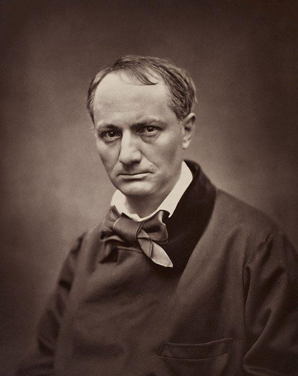Portrait of Charles Baudelaire, circa 1862