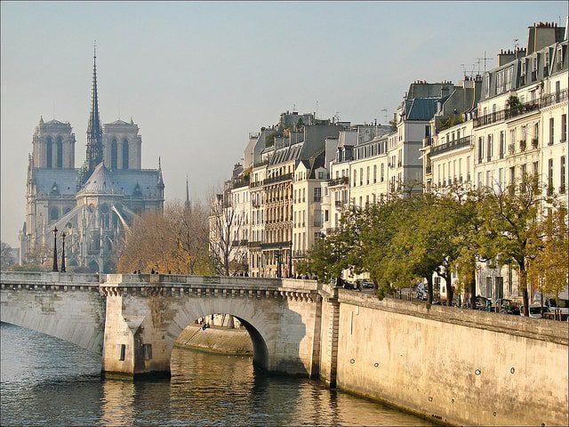L'île Saint Louis à Paris