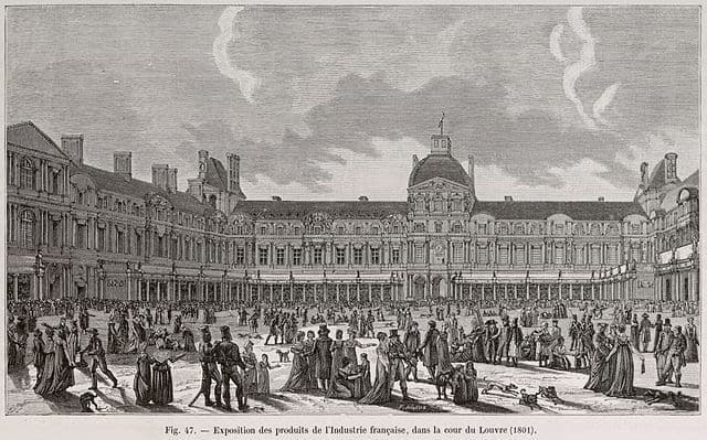 The Louvre in 1801