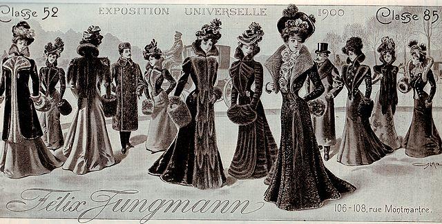 Furs of Felix Jungmann 1900