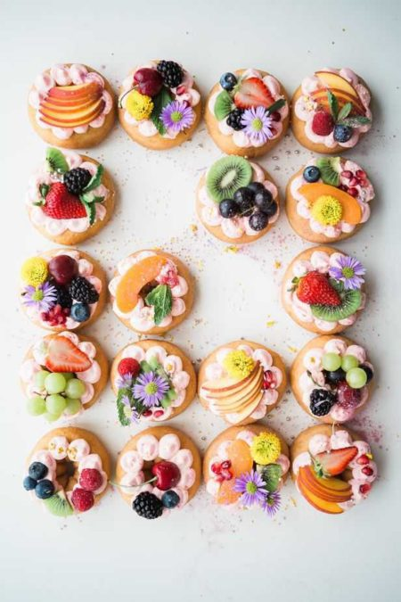Colorful tartes