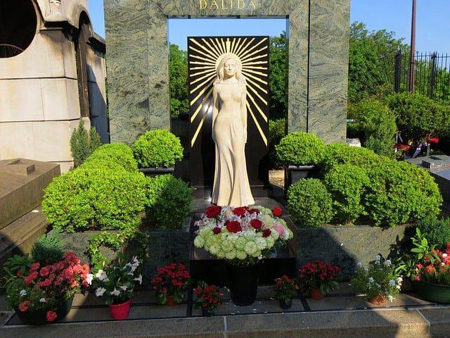 Dalida's grave in Paris