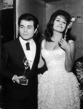 Dalida with her brother Orlando