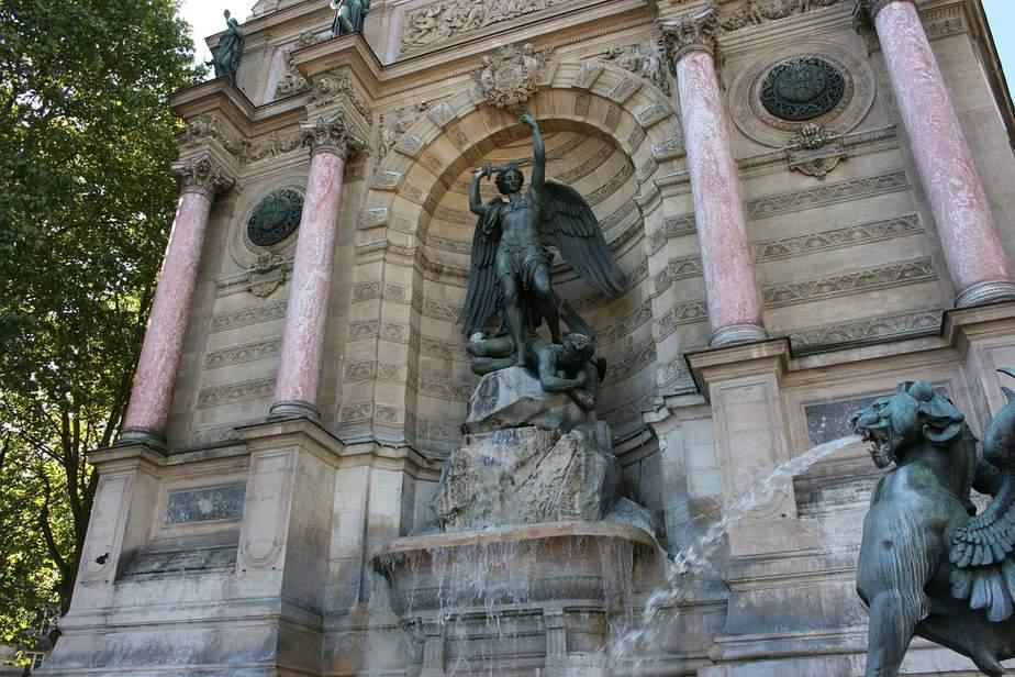 St Michel Fountain
