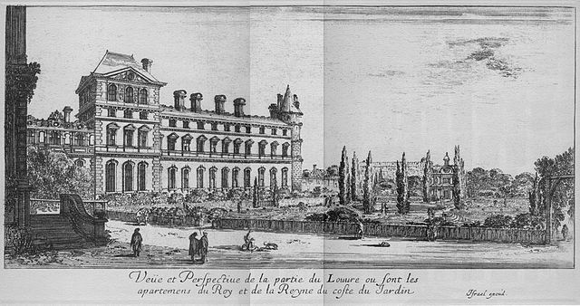 The Louvre in 1650