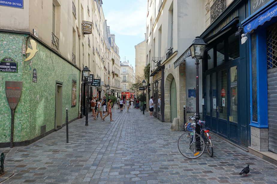 El barrio judío de Le Marais-por Guilhem Vellut-