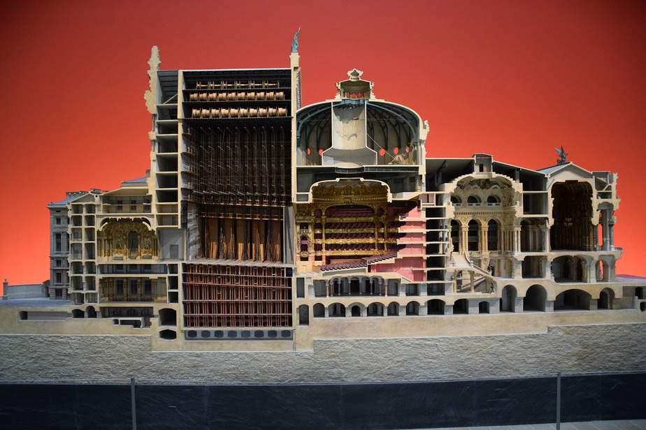 Opera cross section model